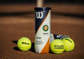 Balles de tennis officielles Wilson Roland-Garros