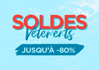soldes vêtements jusqu'à -80%