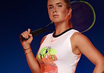 Collection de vetements de tennis femme Nike Ete