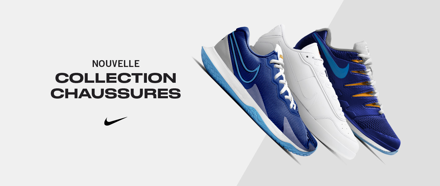 Nouvelles chaussures de tennis Nike homme