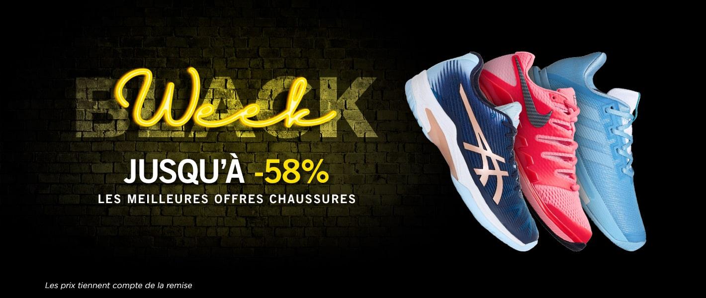 -58 % chaussures - Black week Tennis Achat