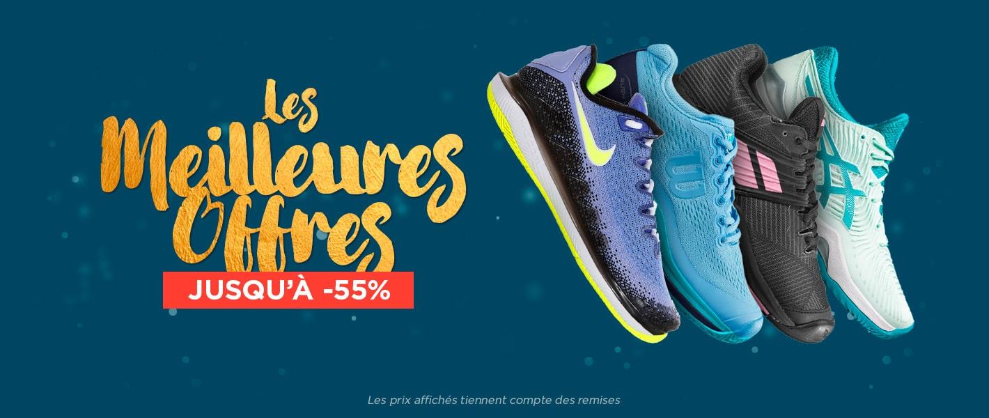 Les meilleures offres chaussures femme jusqu'à 55%