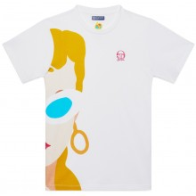 Tee-Shirt Tacchini Femme Barbie Blanc