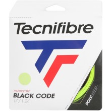 Cordage Tecnifibre Black Code Lime Vert
