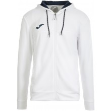 Sweat à Capuche Joma Torneo Zippé Blanc