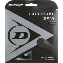 Cordage Dunlop Explosive Spin Noir (12 Mètres)