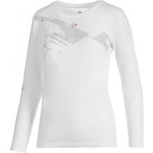 Tee-Shirt LS Dunlop Club Shadow Femme Blanc
