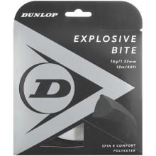 Cordage Dunlop Explosive Bite Noir (12 Mètres)