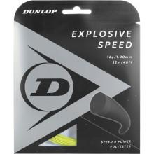 Cordage Dunlop Explosive Speed Jaune (12 Mètres)