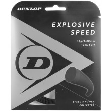 Cordage Dunlop Explosive Speed Noir (12 Mètres)