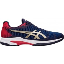 Chaussures Asics Solution Speed FF Terre Battue Bleues