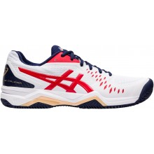 Chaussures Asics Gel Challenger 12 Terre Battue Blanches