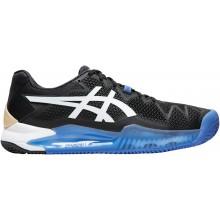 Chaussures Asics Gel Resolution 8 Terre Battue Bleues