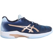 Chaussures Asics Femme Solution Speed FF Terre Battue Marines