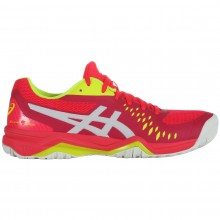 Chaussures Asics Femme Gel Challenger 12 Toutes Surfaces Rouges