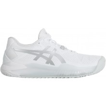 Chaussures Asics Femme Gel Resolution 8 Toutes Surfaces Blanches