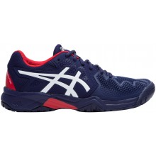 Chaussures Asics Junior Gel Resolution GS Toutes Surfaces Marines