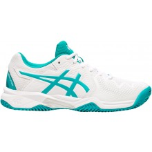 Chaussures Asics Junior Gel Resolution 8 GS Terre Battue Blanches