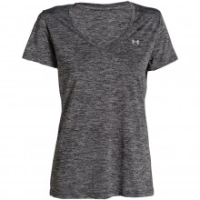 Tee-Shirt Technique Under Armour Femme Twist Gris