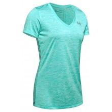 Tee-Shirt Under Armour Femme Twist Bleu