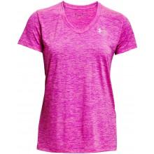 Tee-Shirt Under Armour Femme Tech Twist Rose