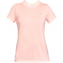Tee-Shirt Under Armour Femme Twist Tech Corail