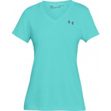 Tee-Shirt Under Armour Femme Threadborne Twist Ciel