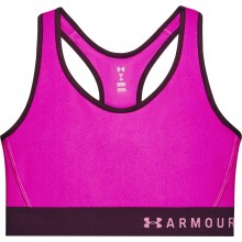 Brassière Under Armour Mid Keyhole Rose