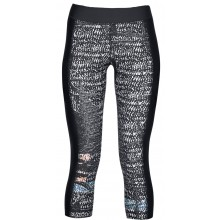 Pantalon Under Armour Femme Capri Printed Noir