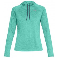 Sweat Under Armour Femme à Capuche Tech Twist 2.0 Vert