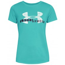 Tee-Shirt Under Armour Femme Tech Graphic Vert