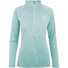 Sweat Under Armour Femme Twist 1/2 Zippé Ciel