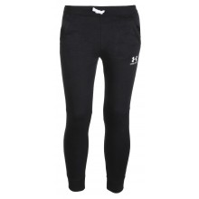 Pantalon Under Armour Junior Cotton Fleece Noir