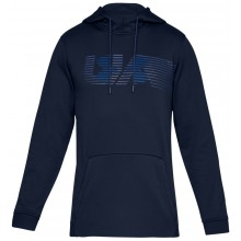 Sweat Under Armour à Capuche Spectrum Marine