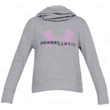 Sweat Under Armour Femme Cotton Fleece Logo Gris