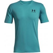 Tee-Shirt Under Armour Sportstyle Left Chest Bleu