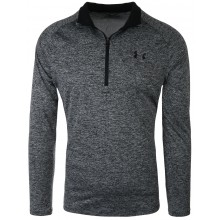 Tee-Shirt Under Armour Tech 1/2 Zippé Manches Longues Gris