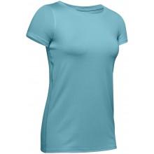 Tee-Shirt Under Armour Femme Heatgear Bleu