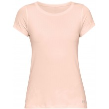 Tee-Shirt Under Armour Femme Heatgear Rose