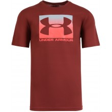 Tee-Shirt Under Armour Boxed Sportstyle Rouge