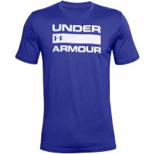 Tee-Shirt Under Armour Team Issue Wordmark Bleu