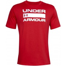 Tee-Shirt Under Armour Issue Wordmark Rouge