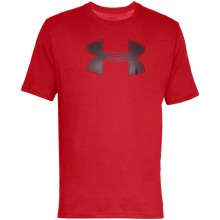 Tee-Shirt Under Armour Big Logo Rouge