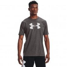 Tee-Shirt Under Armour Big Logo Gris
