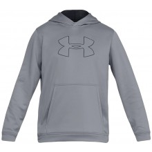 Sweat Under Armour A Capuche Performance Fleece Graphic Gris