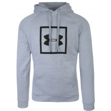 Sweat Under Armour À Capuche Rival Fleece Gris