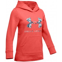 Sweat Under Armour Junior Fille Rival Logo Corail