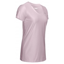 Tee-Shirt Under Armour Femme Novelty Rose