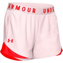 Short Under Armour Femme Play Up 3.0 Rose
