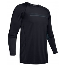 Tee-Shirt Under Armour Manches Longues MH1 Noir